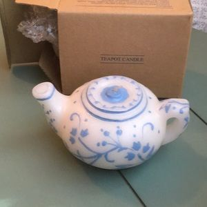 Avon Vintage Teapot Candle Gift Collection